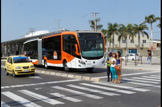 Etapa pedagógica de Transcaribe en Cartagena.