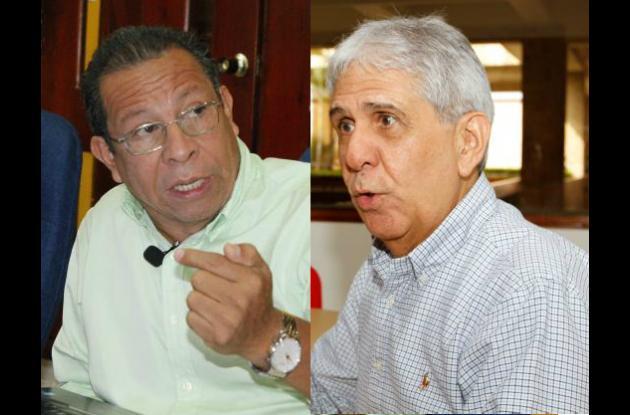 Cesar Pión y Carlos Coronado