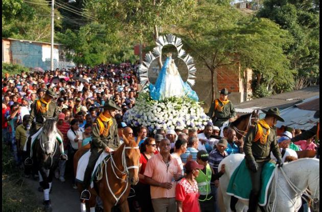 Fiestas de Nuestra señora de la Candelaria.