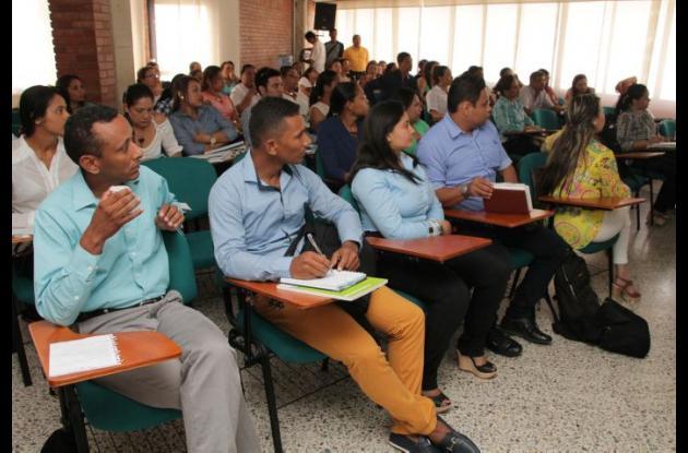 Reunión de representantes de Salud de Sucre para analizar la situación del Zika en la región.