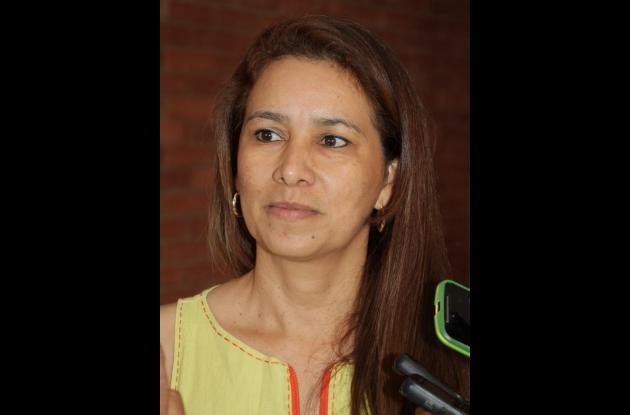 Elsa Yepes Rodelo, secretaria de Salud Departamental de Sucre.