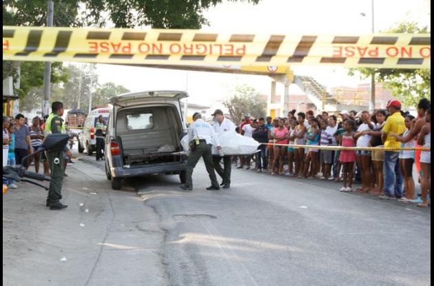 El accidente de tránsito ocurrió en El Bosque, frente al sector El Zapatero. En este murió Nora Batista, de 70 años.