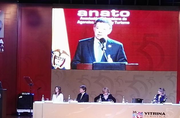60 nuevos hoteles se construirán en el país en los próximos tres años, reveló el Presidente Juan Manuel Santos, en la apertura de la Vitrina de Anato.