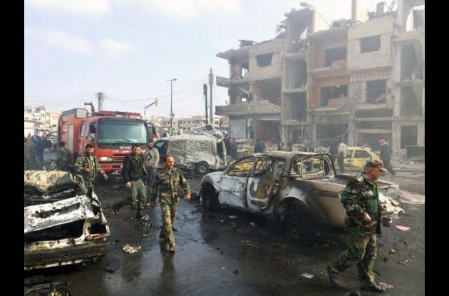 Siria Atentados