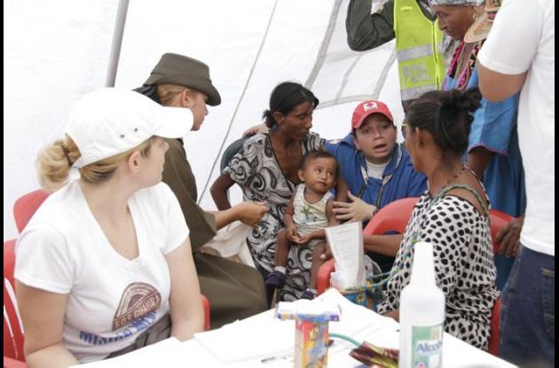 Campaña SOS La Guajira de RCN, que se realiza con al apoyo de El Universal