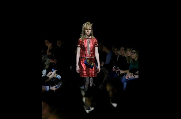 Desfile de Burberry Prorsum en la Semana de la Moda de Londres.