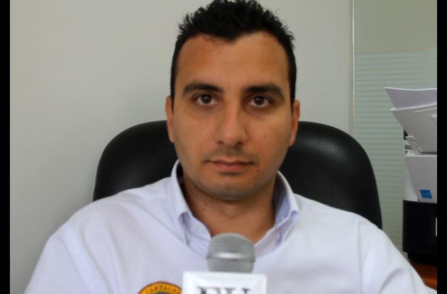 Fernando Niño, secretario de Interior de Cartagena.