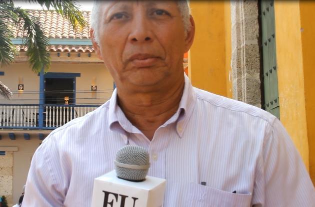 Florencio Ferrer Montero, vicepresidente de la Asociación de Vecinos de Getsemaní.