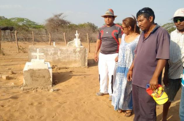 Ricardo Epiayu lamenta la muerte de su hijo.