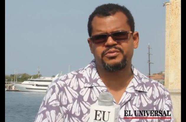 Javier Ortiz Cassiani, historiador y asesor de Mincultura para el proyecto la Ruta de los Esclavos en Cartagena de Indias.