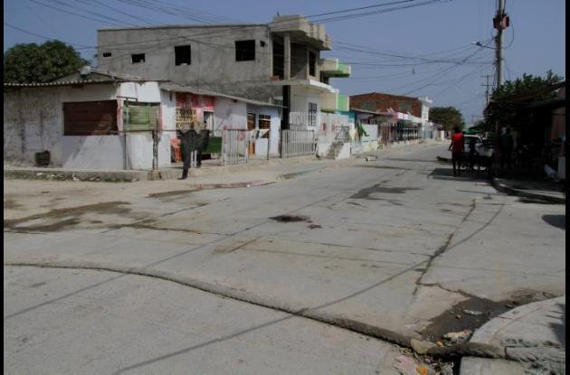 A Harold Sequeda lo agredieron pandilleros en la calle Los Palenqueros. Está internado en un hospital.