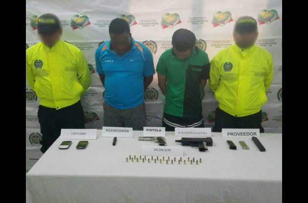 En lo que va corrido de este año, miembros de la Policía Metropolitana de Cartagena han capturado en la ciudad a 97 personas por el delito de porte ilegal, tráfico o fabricación de armas de fuego o municiones.