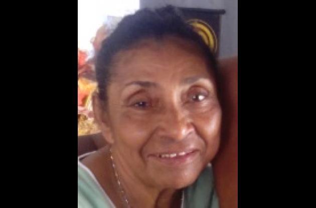 Nora Batista, muerta. Pereció en accidente en El Bosque.