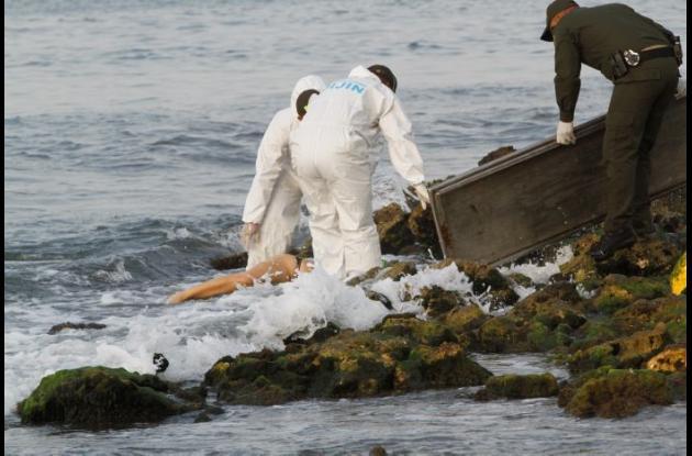 Kiara Padilla, joven que se ahogó en playas de Castillogrande.