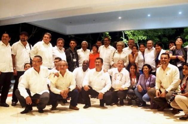 Delegación ed las Farc en La Habana, Cuba