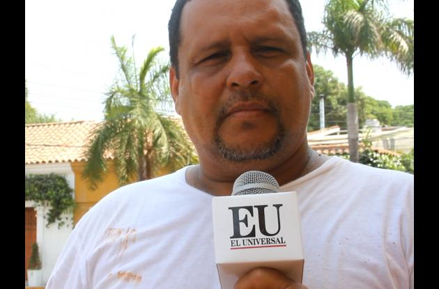 Rafael Enrique Torres, vecino raizal de Getsemaní.