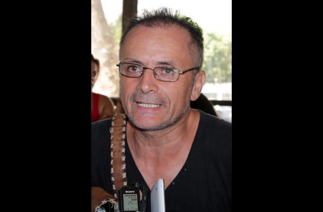 Nelson Vásquez, de la Alianza Nacional de Taxistas.