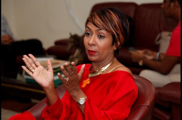 Zully Salazar, presidenta de Corpoturismo