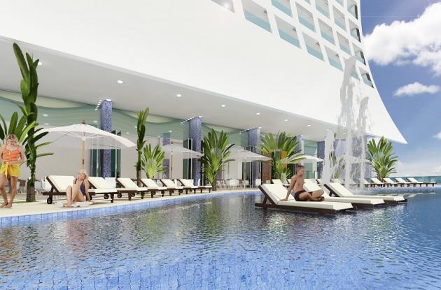 Renderizado conceptual del Hotel Estelar Cartagena de Indias.