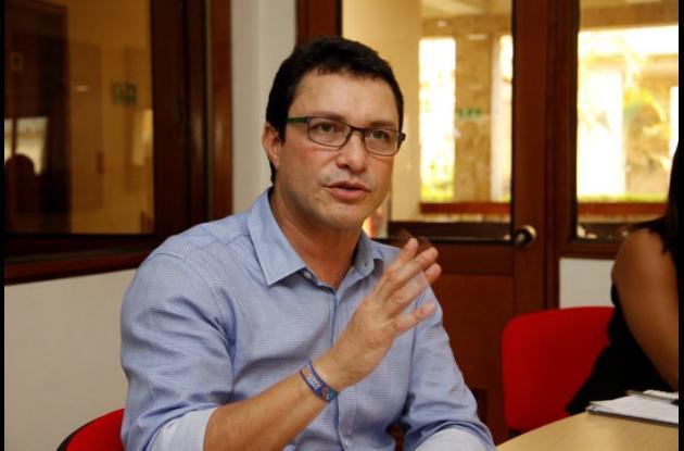Carlos Eduardo Caicedo, exalcalde de Santa Marta y exrector de la Universidad del Magdalena