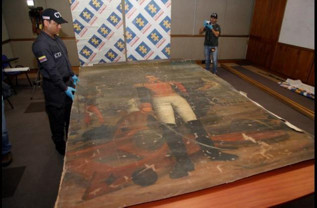 Cuadro de Simón Bolívar