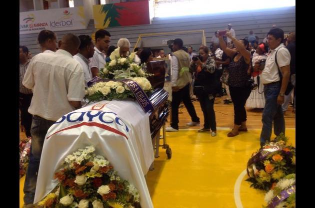 Homenaje a Eliseo Herrera.