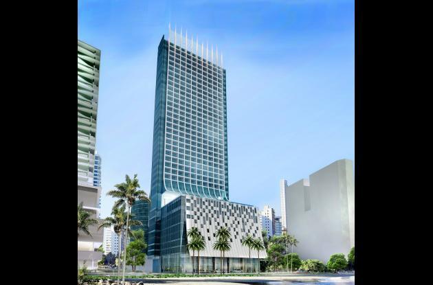 Fachada del Hotel Estelar Cartagena de Indias.