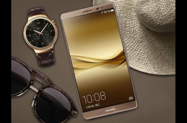 El nuevo Huawei Mate 8 viene en elegantes colores.