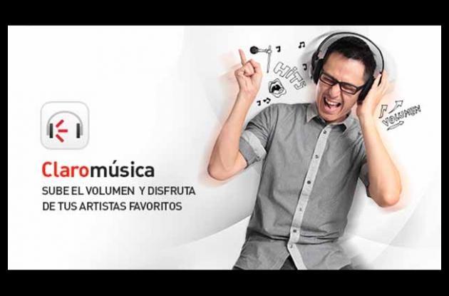 Claro Musica es el servicio de streaming con música ilimitada desarrollado por el operador móvil.