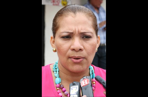 María Vitola, coordinadora de la ACR en Sucre.