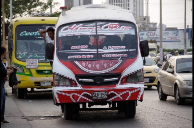 Los atracos a microbús que circulan por Simón Bolívar, San Fernando y llegan hasta la Universidad Tecnológica de Bolívar se han convertido en blanco de la delincuencia.