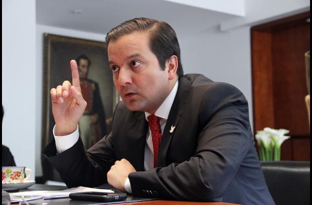 Ministro de las Tecnologías de la Información y la Comunicación, David Luna.