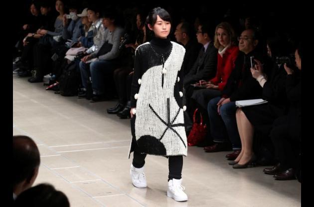 Semana de la Moda de primavera en Japón.