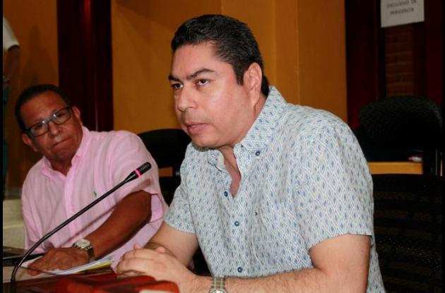 Ronal Fortích, concejal de Cartagena