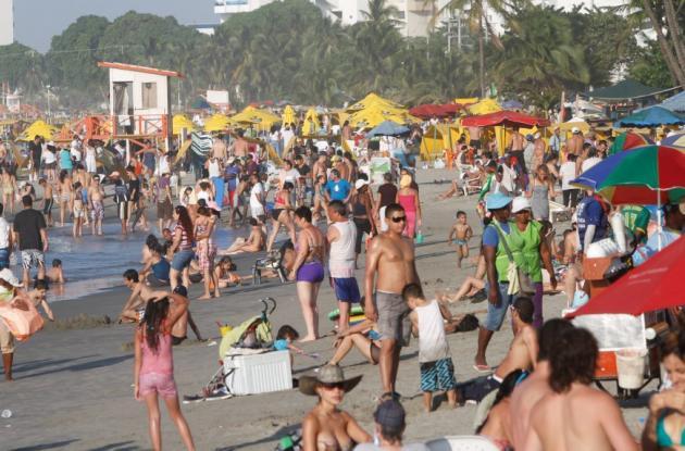 El turismo fue uno de los sectores que más se destacó en el crecimiento de la economía de la Costa Caribe.