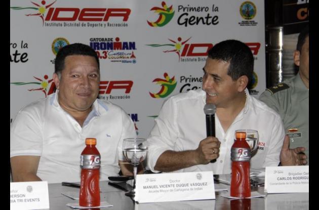 Manolo Duque, alcalde de Cartagena, y Dumek Turbay, gobernador de Bolívar, han mostrado voluntad política y firmes deseos para que la sede se quede aquí.