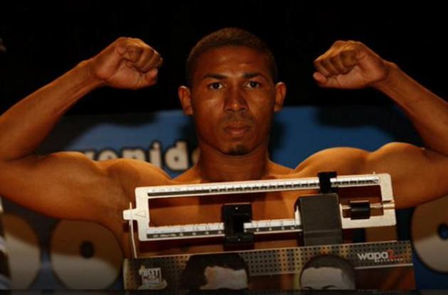 Jhon Berrío, boxeador asesinado.