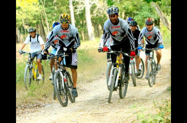Los ciclomontañistas de Bolívar se han preparado para afrontar este evento nacional.