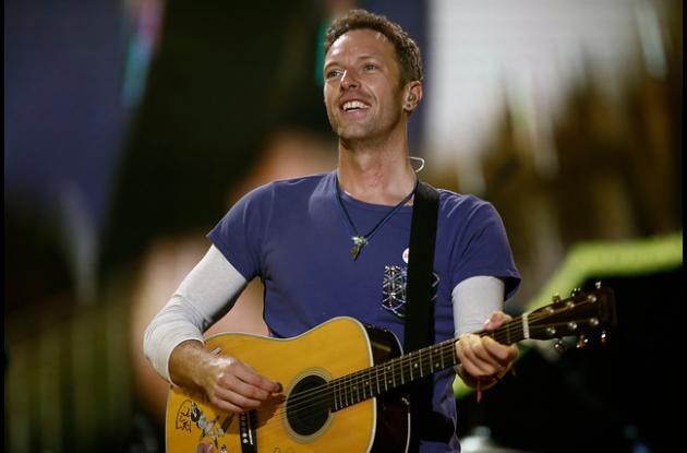 Chris Martin de Coldplay.f