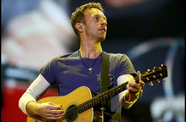 Chris Martin de Coldplay.