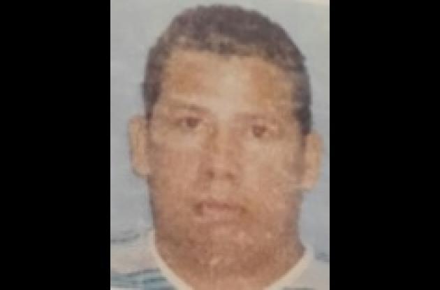 Jairo Dickson, asesinado en Los Cerezos.