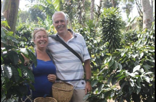 Durdana Bruijn y Peter Pútker. La mujer fue asesinada en velero en Isla Grande.