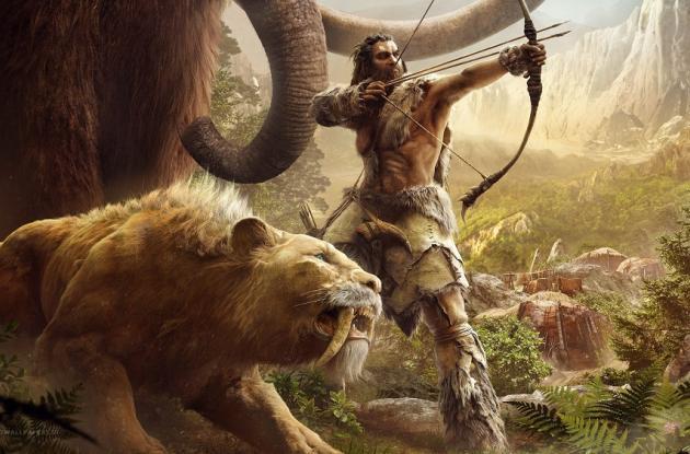 Caminar en compañía de bestias salvajes te hace sentir rudo y valiente en en este juego.