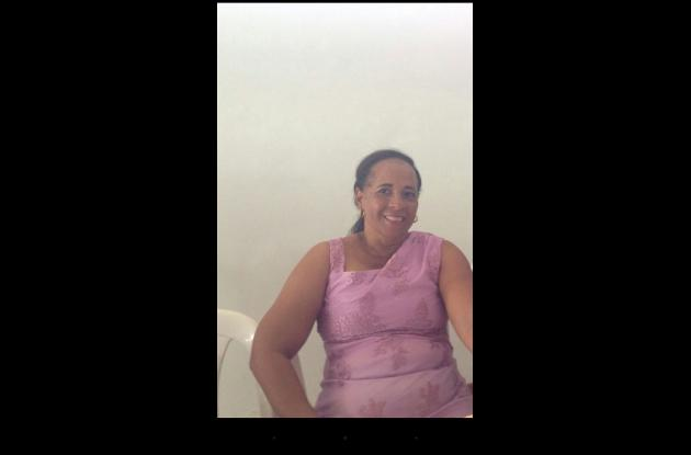 Josefa Hernández, docente del colegio Simón López.