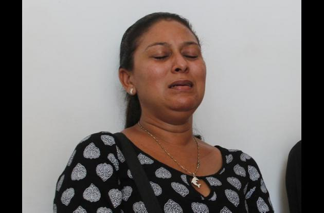 Gladys Guerrero, esposa de Francisco Majarrés, policías pensionado asesinado en atraco en La Troncal.
