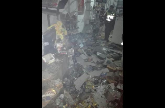 El establecimiento publico Fiesta fue atacado con una granada por el militar.