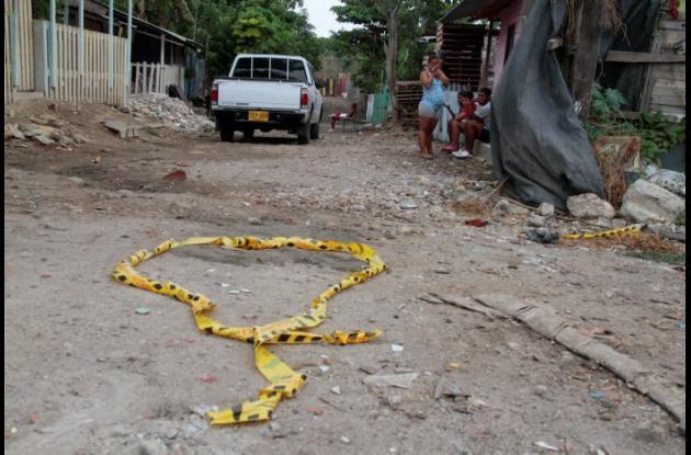Luis De Ávila fue asesinado a balazos en el sector Tanga Mojá del barrio Henequén.