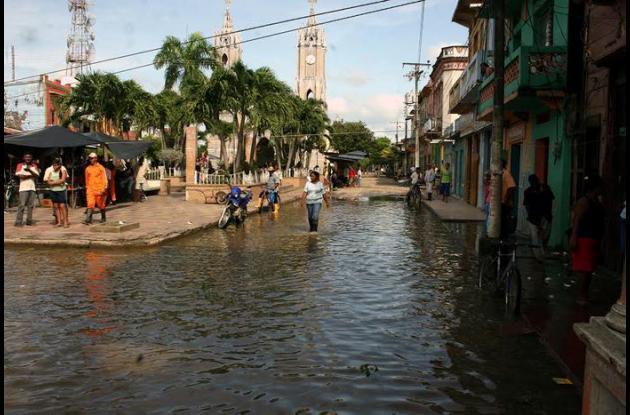 Este año el Gobierno liderado por Édgar Martínez Romero, realizó trabajos para evitar inundaciones en la Mojana.