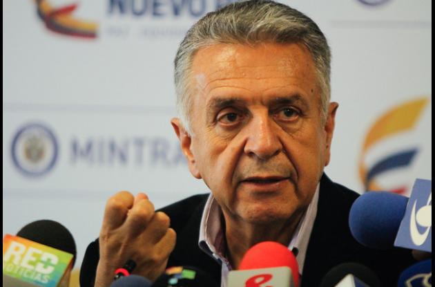 Luis Eduardo Garzón, ministro de Trabajo