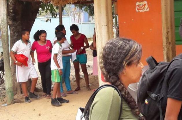 Los 90 estudiantes de bachillerato intoxicados fueron trasladados a Montería.